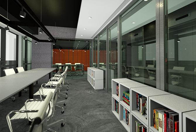 恆港中心的共同工作空間