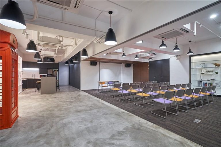 Hong Kong Office Space at Vanta Industrial Centre