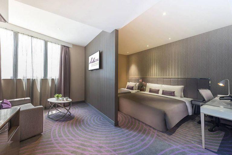 絲麗酒店的家庭套房連沙發床